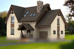 Примеры домов с мансардой